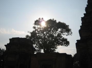 Temples against the Sun
