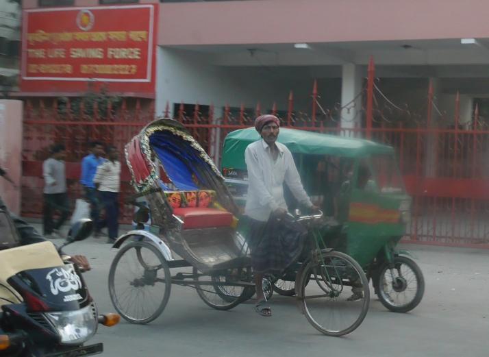 Rickshaw and CNG